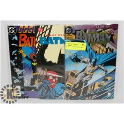3 BATMAN COLLECTORS COMICS