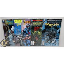 5 COLLECTORS 3D COVER COMICS BATMAN