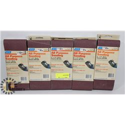 "BUNDLE OF ALL PURPOSE 4"" X 21"" SANDING BELTS"