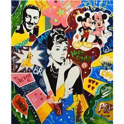 "Nastya Rovenskaya- Mixed Media ""High Style"""