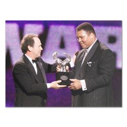 "Licensed Photograph of Heavyweight Champ Muhammad Ali(40"" x 30"")."