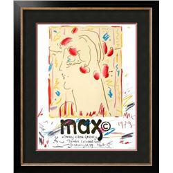 "Peter Max ""Cherry Creek Gallery, Colorado"" Rare Lithograph"
