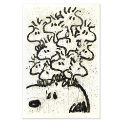 """Tom Everhart- Hand Pulled Original Lithograph """"Party Crashers"""""""