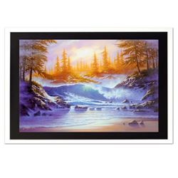 """Jon Rattenbury, """"Lullaby Sea"""" Limited Edition Giclee on Canvas (36"""" x 24""""), Numbered and Hand Signed"""