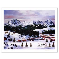 """""""Sawtooth Mountain Splendor"""" Limited Edition Lithograph by Jane Wooster Scott, Numbered and Hand Sig"""