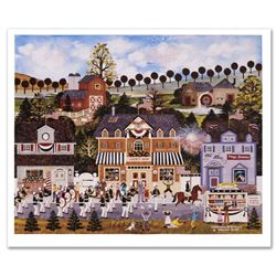 """""""Celebration of America"""" Limited Edition Lithograph by Jane Wooster Scott, Numbered and Hand Signed"""