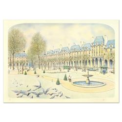 """Rolf Rafflewski, """"Park"""" Limited Edition Lithograph, Numbered and Hand Signed."""