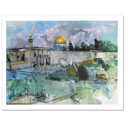"""""""Jerusalem"""" Limited Edition Giclee on Canvas (40"""" x 30"""") by Alex Zwarenstein, Numbered and Hand Sign"""