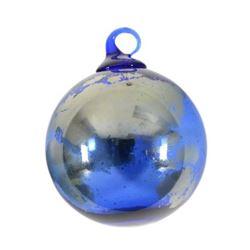 """Glass Eye Studios, """"Ornament (Earth)"""" Hand Blown Glass Sculpture (Second)."""