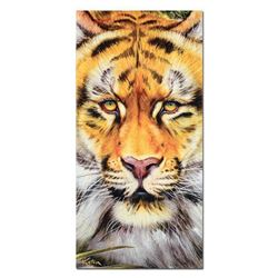 """""""Tiger Surprise"""" Limited Edition Giclee on Canvas by Martin Katon, Numbered and Hand Signed with COA"""