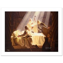 """The Healing Of Eowyn"" Limited Edition Giclee on Canvas by The Brothers Hildebrandt. Numbered and Ha"