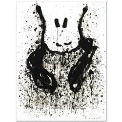 """""""Watchdog 6 O'Clock"""" Limited Edition Hand Pulled Original Lithograph by Renowned Charles Schulz Prot"""