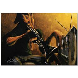 """""""Urban Tunes"""" Limited Edition Giclee on Canvas (60"""" x 40"""") by David Garibaldi, M Numbered and Signed"""
