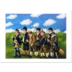 """Guy Buffet, """"Gang On The Move"""" Limited Edition Serigraph; Numbered and Hand Signed with Certificate"""