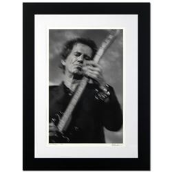 """""""Keith Richards"""" Limited Edition Giclee by Rob Shanahan, Numbered and Hand Signed with COA. This pie"""
