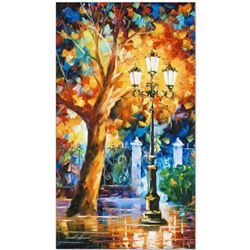 """Leonid Afremov """"Romantic Aura"""" Limited Edition Giclee on Canvas, Numbered and Signed; Certificate of"""