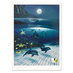 """Wyland, """"Mystical Waters"""" Limited Edition Lithograph, Numbered and Hand Signed with Certificate of A"""