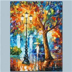 """Leonid Afremov """"Night Aura"""" Limited Edition Giclee on Canvas, Numbered and Signed; Certificate of Au"""