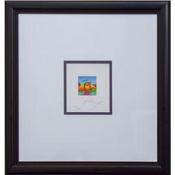 "Peter Max- Original Lithograph ""Sail Profile (MINI)"""