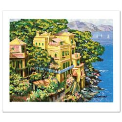 """""""Villa Portofino"""" Limited Edition Serigraph by Howard Behrens (1933-2014), Numbered and Hand Signed"""