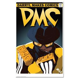 """""""DMC The All-Time Great"""" is a Numbered Chromatic Pigment Ink Limited Edition, Hand Signed by Darryl"""