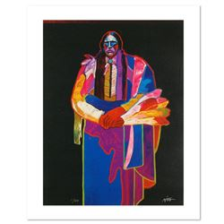 """""""Quanah Parker"""" is a Limited Edition Giclee on Canvas by John Nieto, Numbered 1/500 and Hand Signed"""
