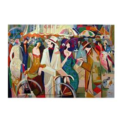 """Isaac Maimon, """"The Compromise"""" Limited Edition Serigraph, Numbered and Hand Signed with Letter of Au"""