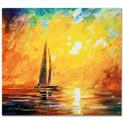 """Leonid Afremov """"Tuscan Sun"""" Limited Edition Giclee on Canvas, Numbered and Signed; Certificate of Au"""