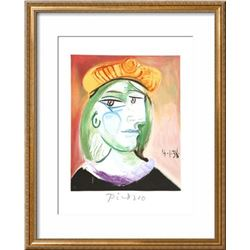 """Pablo Picasso """"Marie Therese Walter"""" Custom Framed Lithograph"""