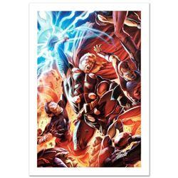 """Secret Invasion: Thor #2"" Limited Edition Giclee on Canvas by Doug Braithwaite and Marvel Comics. N"