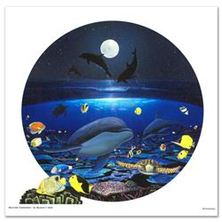 """Moonlight Celebration"" Limited Edition Giclee on Canvas by renowned artist WYLAND, Numbered and Han"
