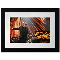 """Elton John"" Limited Edition Giclee by Rob Shanahan, Numbered and Hand Signed with COA. This piece c"