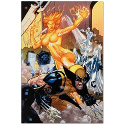 "Marvel Comics ""Secret Invasion: X-Men #4"" Numbered Limited Edition Giclee on Canvas by Terry Dodson"