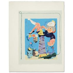 """""""Dance Of The Bell"""" Limited Edition Lithograph by Moshe Michaan, Numbered and Hand Signed with Certi"""