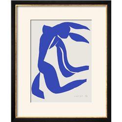 "Henri Matisse ""Verve - Nu bleu VII"" Lithograph"