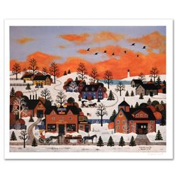 """""""A Sunset Long Ago"""" Limited Edition Lithograph by Jane Wooster Scott, Numbered and Hand Signed with"""