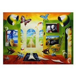 "Alexander Astahov- Original Oil on Canvas ""View Of Park"""