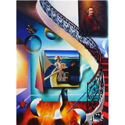 """Ferjo """"STAIRWAY TO THE MASTERS II"""" Giclee on Canvas"""