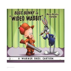 """""""Wideo Wabbit"""" Limited Edition Giclee from Warner Bros., Numbered with Hologram Seal and Certificate"""