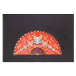 """Erte (1892-1990), """"Madame Butterfly"""" Limited Edition Serigraph, Numbered and Hand Signed with Certif"""