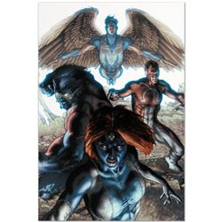 """Marvel Comics """"Dark X-Men #1"""" Numbered Limited Edition Giclee on Canvas by Simone Bianchi with COA."""