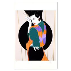"""Steve Leal, """"Kelly"""" Limited Edition Serigraph, Numbered and Hand Signed with Letter of Authenticity."""