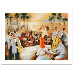 """""""Miami Nights"""" Limited Edition Serigraph from an AP Edition by Michael Rozenvain, Hand Signed with C"""