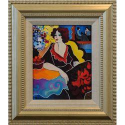 "Patricia Govezensky- Original Giclee on Canvas ""Miriam"""
