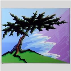 """Cypress Point"" Limited Edition Giclee on Canvas by Larissa Holt, Numbered and Signed with COA. This"