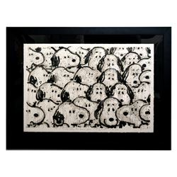 """Tom Everhart- Hand Pulled Original Lithograph """"Crashing the Party"""""""