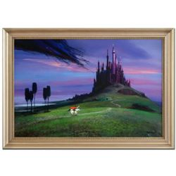 """Peter Ellenshaw (1913-2007), """"Aurora's Rescue"""" Framed Limited Edition Giclee on Canvas from Disney F"""