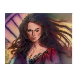 "John Alvin (1948-2008), ""Elizabeth Swan"" Limited Edition Giclee on Canvas, Licensed by Disney Fine A"