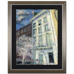 "Alex Zwarenstein, ""White Winter Light"" Framed Original Oil Painting on Canvas, Hand Signed with Cert"