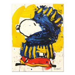 """Tom Everhart- Hand Pulled Original Lithograph """"March Vogue"""""""